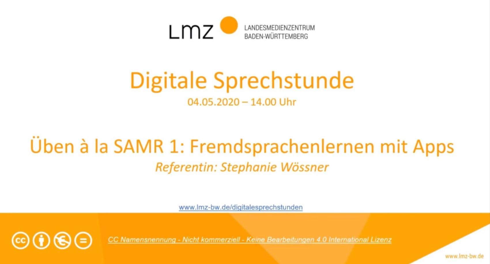 Üben à la SAMR (1): Fremdsprachenlernen mit Apps