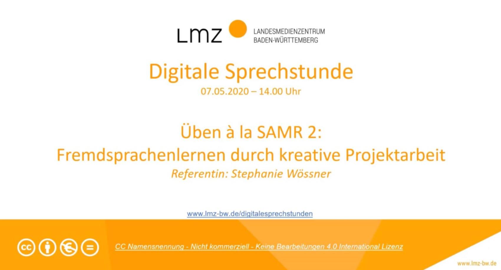 Üben à la SAMR (2): Fremdsprachenlernen durch kreative Projektarbeit