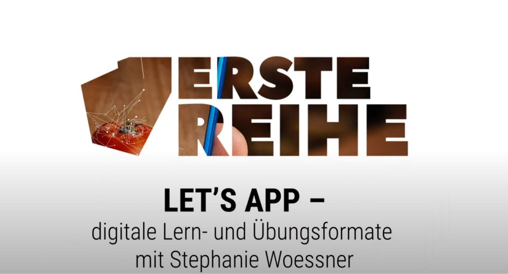 Let's App – Üben und projektorientiertes Lernen im Zeitalter der digitalen Transformation
