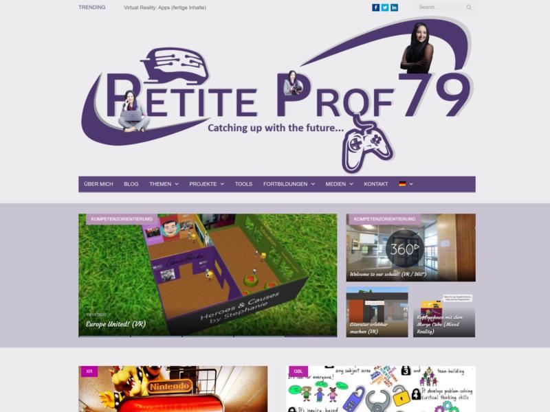 PetiteProf79 (Blog)