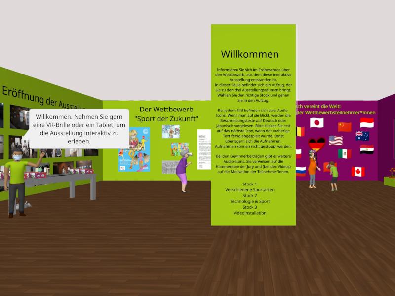 Une exposition virtuelle sur l'avenir du sport